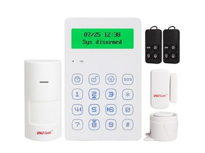 ALARMA WIRELESS WOLF-GUARD YL-007M3GN GSM PORTABIL